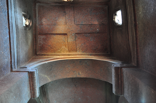 Ceiling of St. George Church, Lalibela