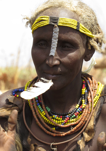 Woman of the Dassanech tribe