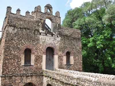 King Fasilides' baths in Gondar.