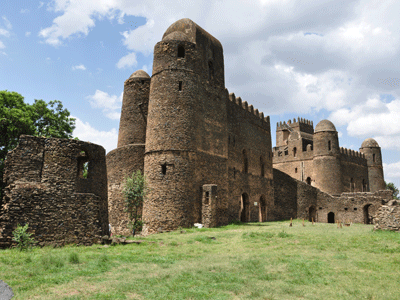 Royal Enclosure, a UNESCO World Heritage site in Gondar.