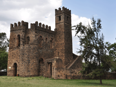 Royal Enclosure, Gondar.