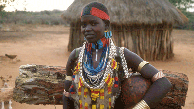 Omo Valley young woman