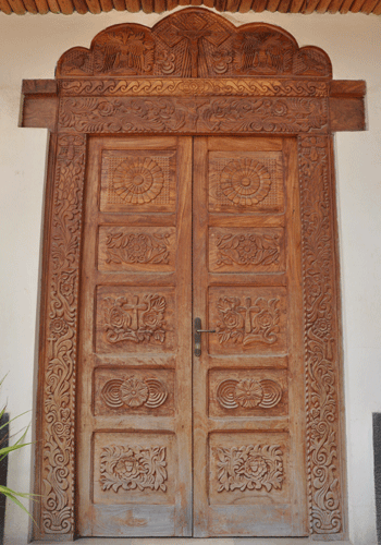 Church doorway in Harar