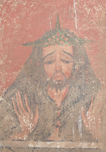 Painting of Jesus, Lalibela