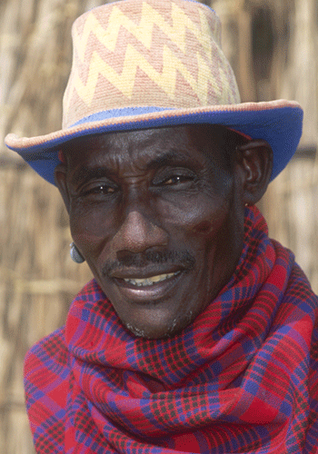 A man from the Karo tribe