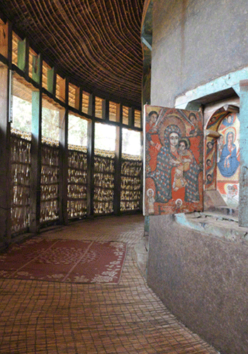 Island monastery on Lake Tana.