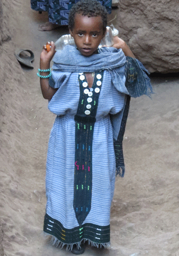 Youngster in Lalibela.