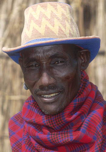 A man from the Karo tribe.