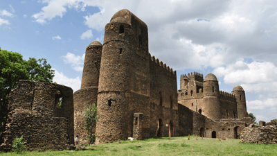 Royal Enclosure of Gondar Ethiopia