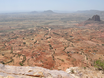 View from Debre Maryam Korkor church in Tigray.