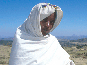 A woman from Tigray.