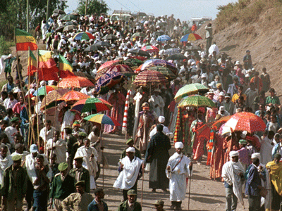 Timkat celebrations in Lalibela